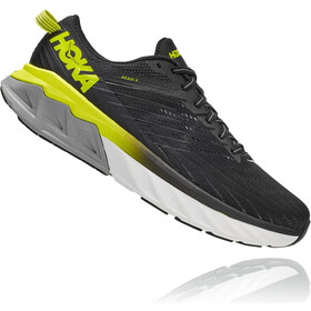Hoka One One Arahi 4 Chaussures Homme, black/evening primrose